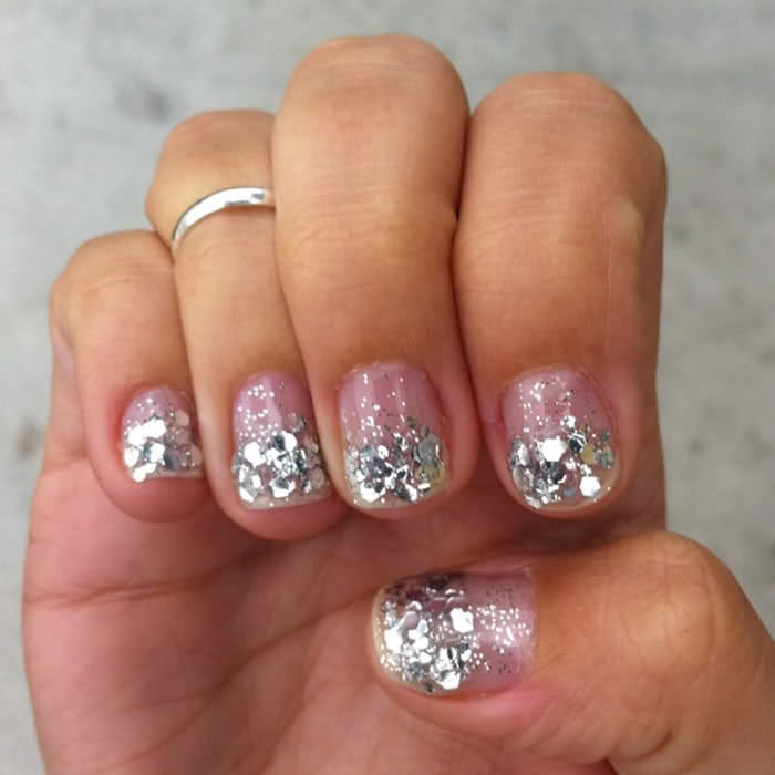 Glittery and edgy, anyone?