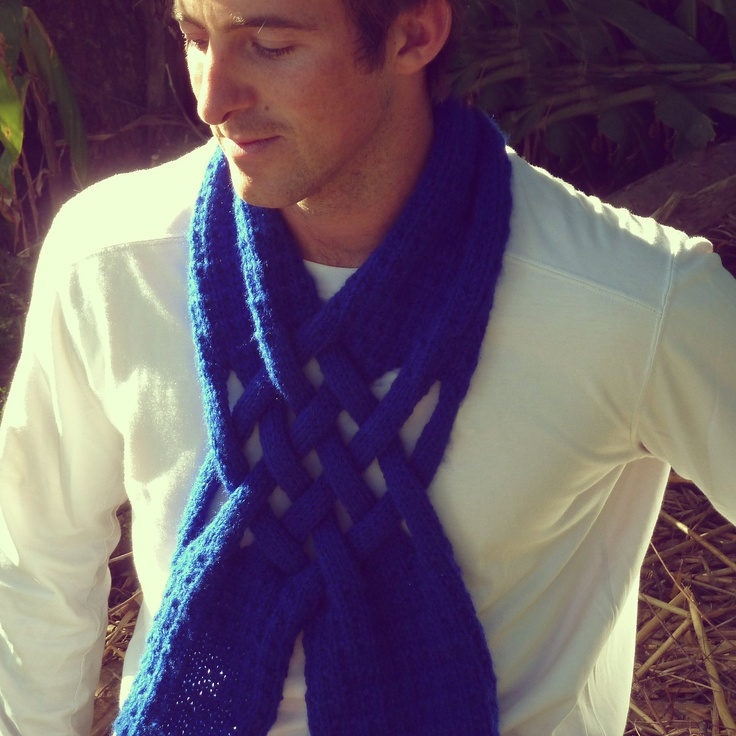 knitting pattern neck warmer Weave Scarf Mens Fashion Neck Scarves