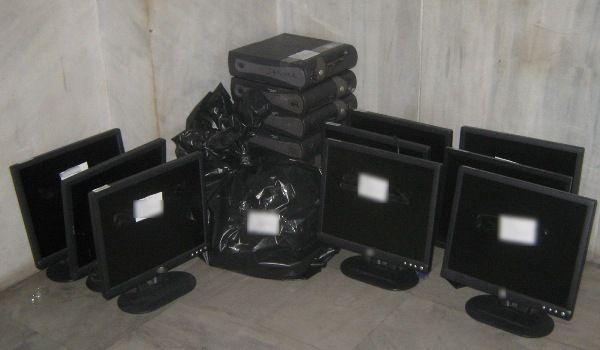 Συλλήψεις για «Φρουτάκια» στα Γιαννιτσά