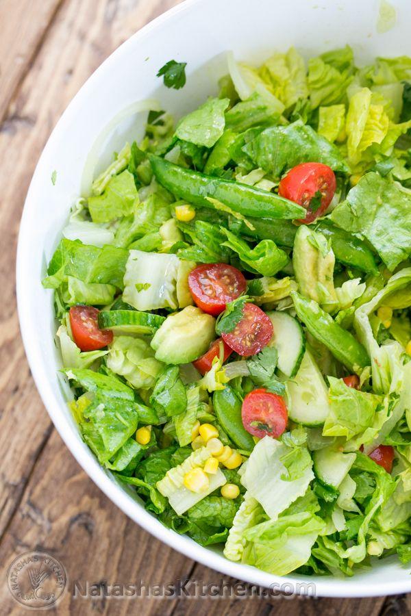 Mexican Chopped Salad With Cumin Vinaigrette Recipe — Dishmaps