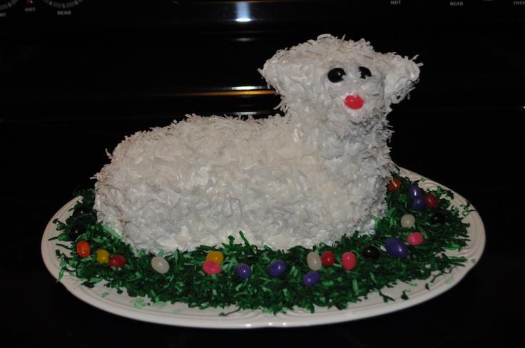 Easter Lamb Cake | Easter Ideas | Pinterest