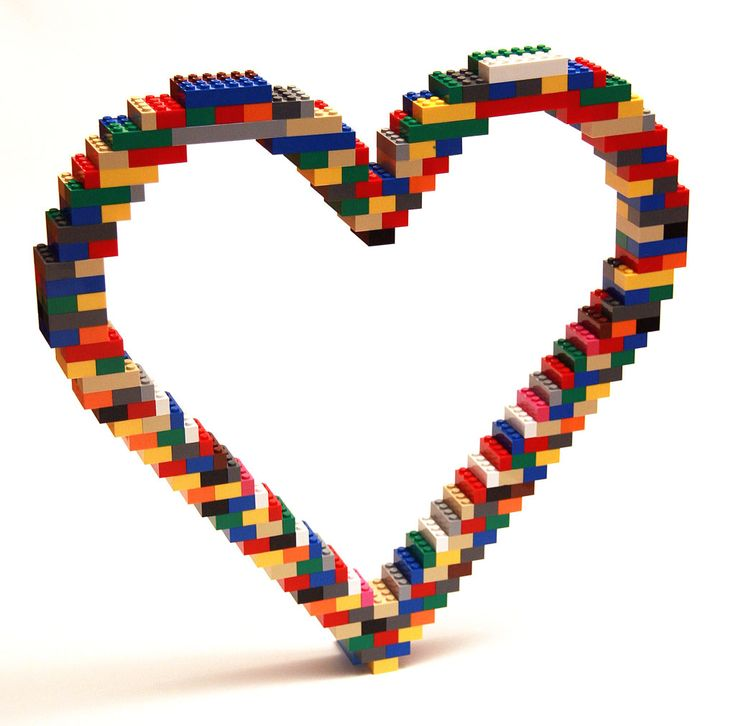 lego valentines day heart