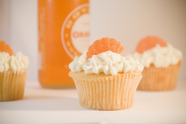 orange cream soda cupcake | weddings | Pinterest