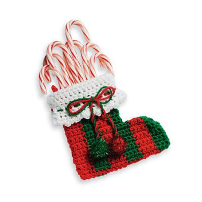 Free Crochet Patterns For Mini Christmas Stockings : MINI CHRISTMAS STOCKING CROCHET PATTERNS ? Free Crochet ...