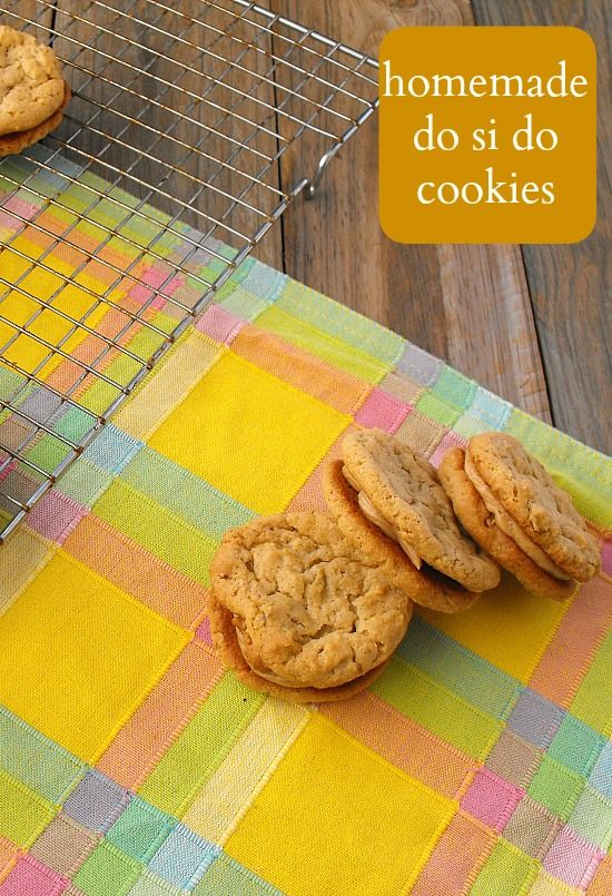 Homemade Do-Si-Dos (Girl Scout Cookies): Make Your Own Monday #15 | R ...