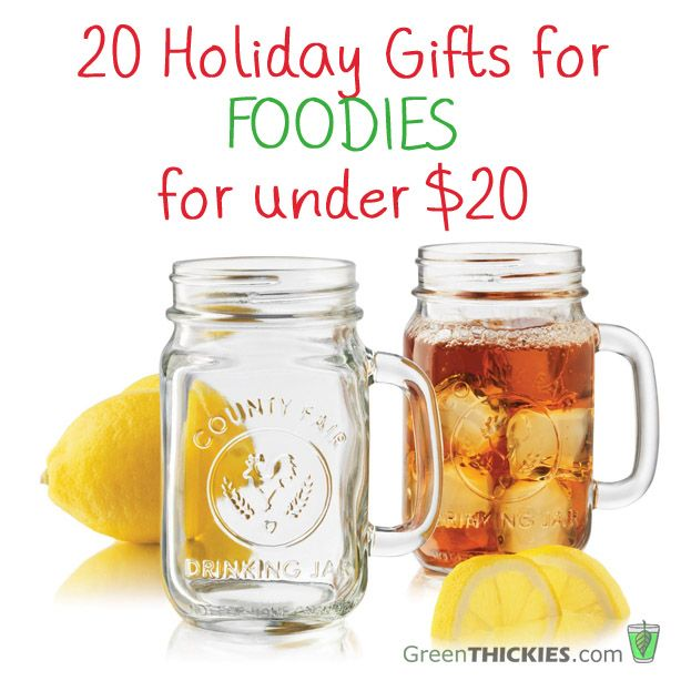 20 holiday gifts for foodies for under 20 Unique stocking stuffers adults