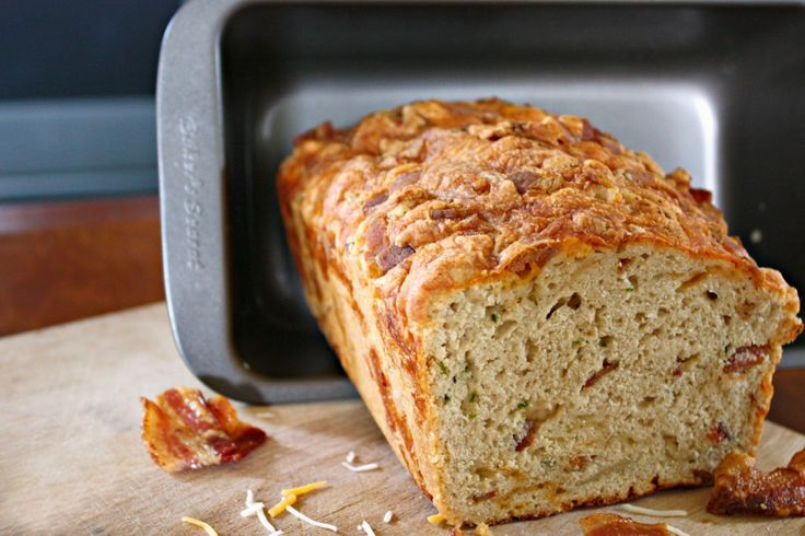 Bacon Cheddar Beer Bread with Fresh Jalapenos and a GIVEAWAY! | Fields ...
