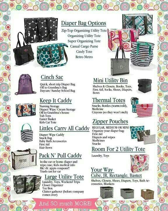 monogram tote bags 31 uses for thirty one products