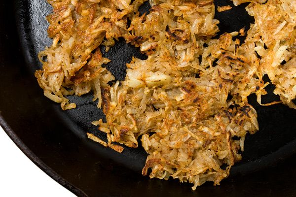 Chile-Cilantro Hash Browns | YUM-TASTY TATERS | Pinterest