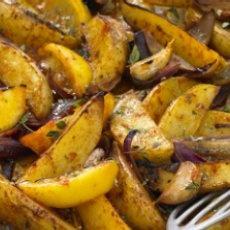 Cajun Spicy Potato Wedges | Food | Pinterest