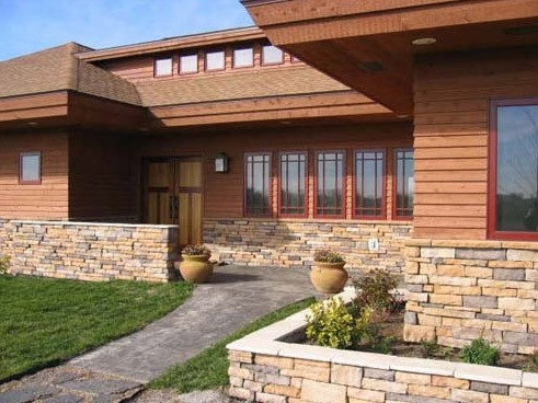 "frank loyd wright organic arch Frank lloyd wright originally coined the phrase ""organic architecture"" before the word 'organic' came to be associated with everything from juice and dry cleaning to farming and makeup."