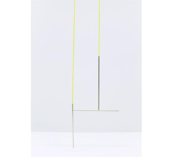 Henriette Schuster - necklace /   silver, elastic