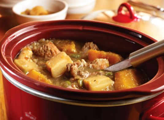 Slow Cooker Fall Harvest Pork Stew | Recipe