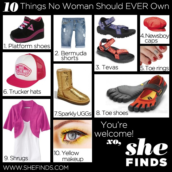 love things woman should