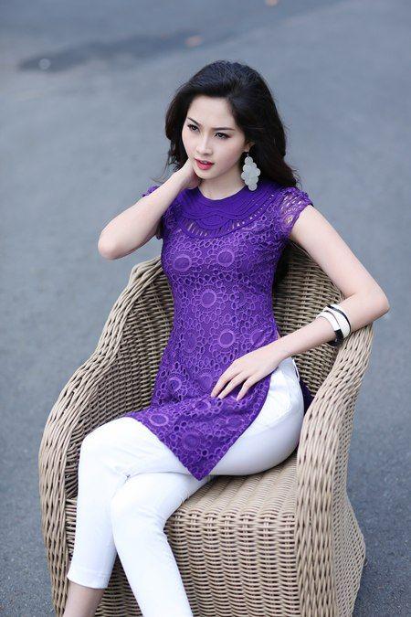 Modern ao dai look ao dai traditional vietnamese dress pinterest