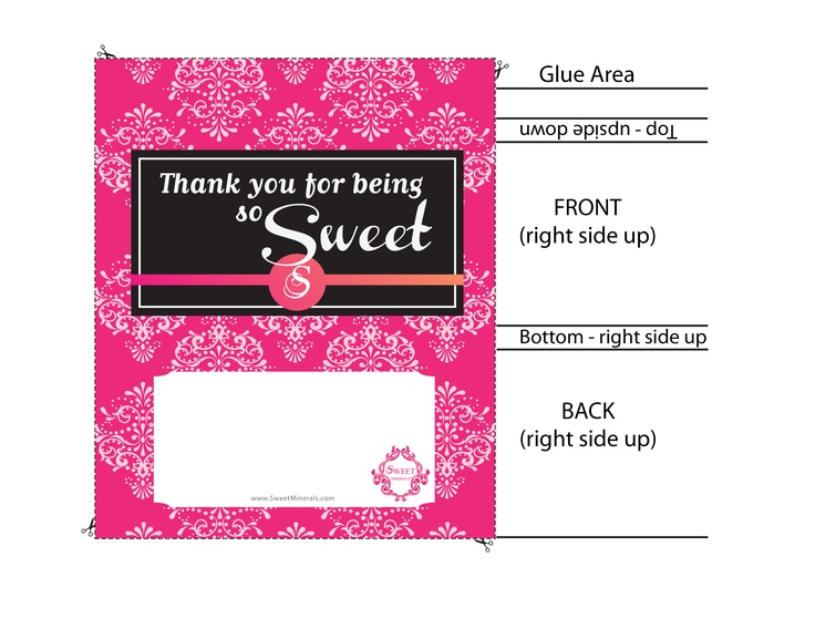 Candy Bar wrapper template | Clip Art | Pinterest