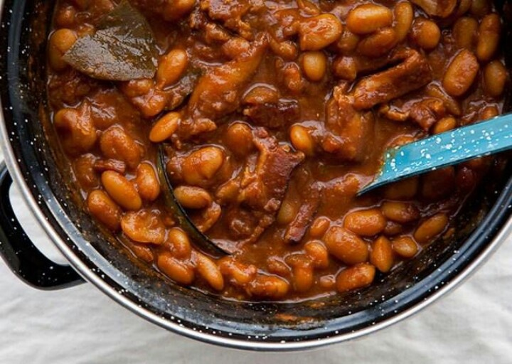 Root Beer Baked Beans with Bacon | Foodies...breads...odd & ends ...