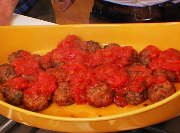 Meatball Shop's Classic Beef Meatballs - I didn't add the ground ...