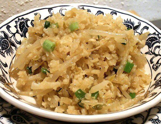 Cauliflower Asian Style Rice | mmm food | Pinterest