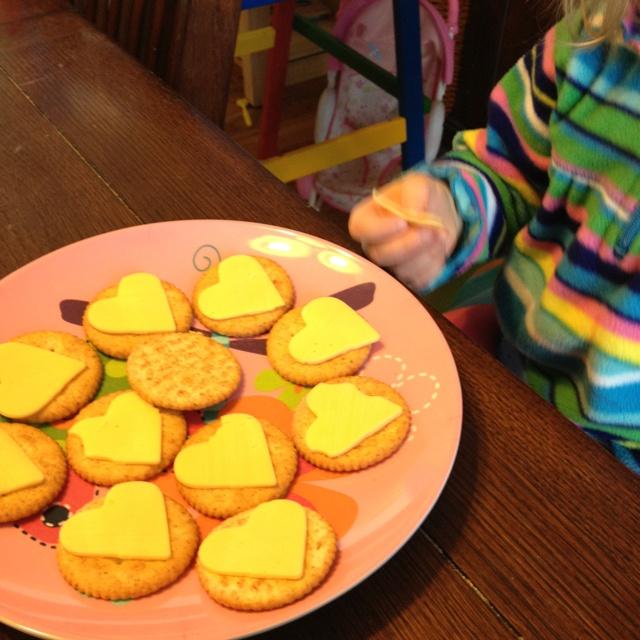 valentine's day snacks for kindergarten