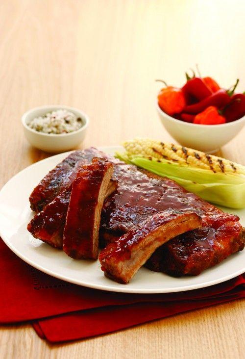 Slow Cooker BBQ Pork Ribs