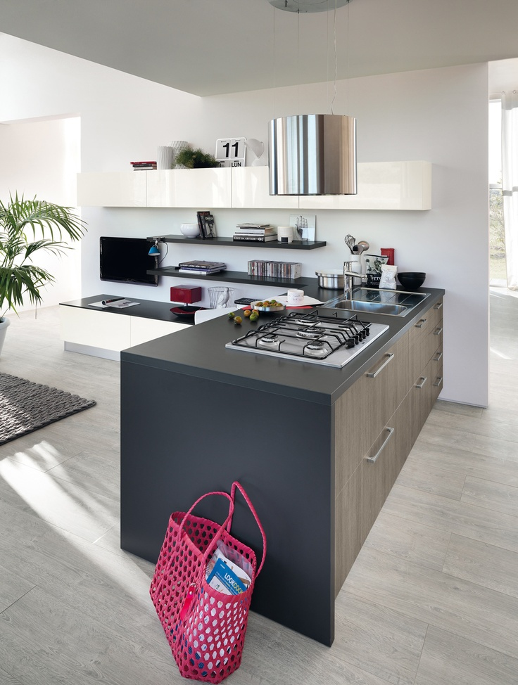 Sax plenty of ideas to make the dream of a trendy for Scavolini kitchens