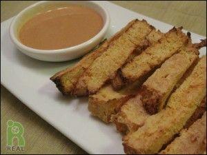 crispy baked tofu sticks | Vegan Schmegan | Pinterest