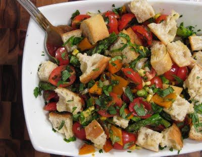 ... Crumbs | Recipes and Tid Bits for Life: Grilled Vegetable Panzanella
