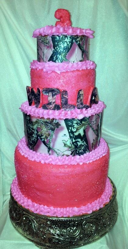 Mossy Oak Birthday Cake Ideas