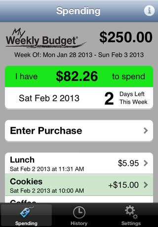 budget tracking app for iphone
