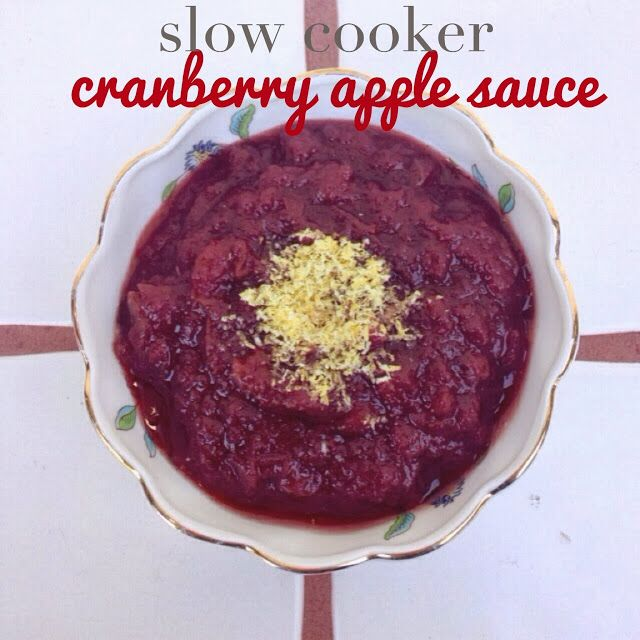 Cranberry Apple Sauce | Food and Drink | Pinterest