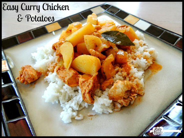 Easy One Pot Curry Chicken & Potatoes - Good Cook #AskGoodCook # ...