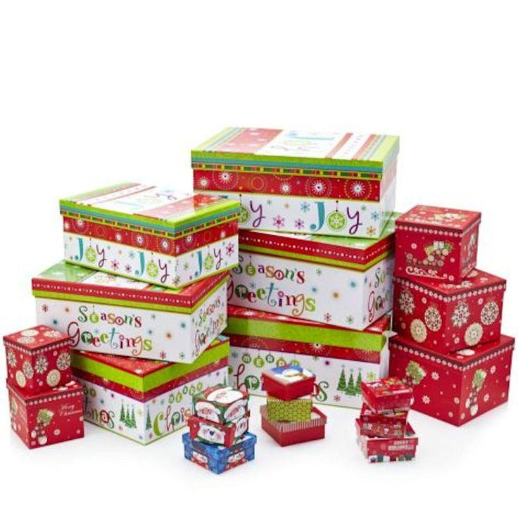 Lindy bowman piece christmas gift box assortment new