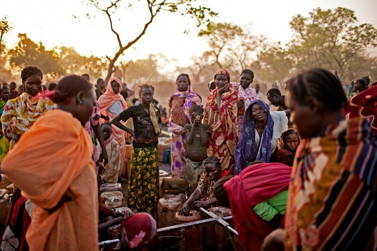 Inside South Sudan: Pete Muller Photographs Yida's Refugees