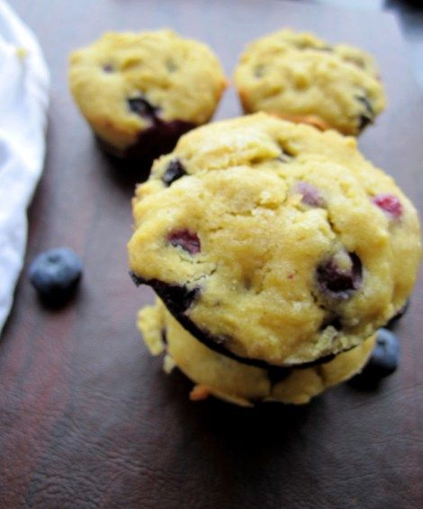 Gluten-Free Blueberry Muffins | Healthy Treats | Pinterest