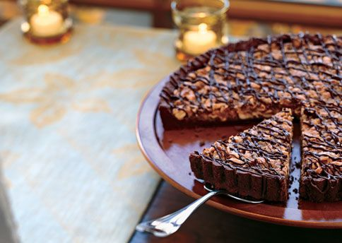 Cashew-Coconut Tart in Chocolate Crust. (I made this one Christmas and ...
