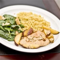 Moroccan-Style Roasted Chicken with Peaches @ allrecipes.co.uk
