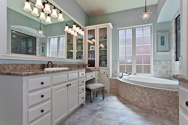 Spa Like Master Bath | House ideas | Pinterest