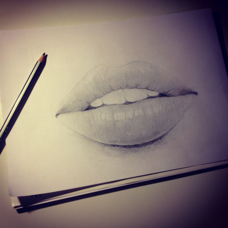 Lips sketch | Sketching | Pinterest: pinterest.com/pin/346073552587736124