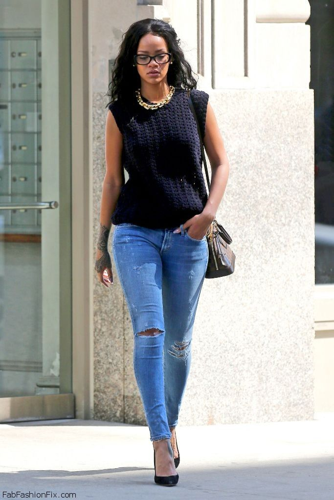 Rihanna Street Style Celebrity Street Style Pinterest