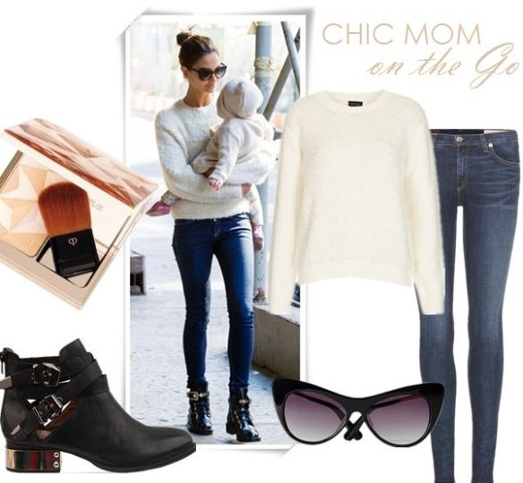 how to wear ankle jeans in winter