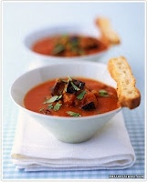 Roasted Tomato & Eggplant Soup | My Lifestyle - Philosophy. Health, N ...