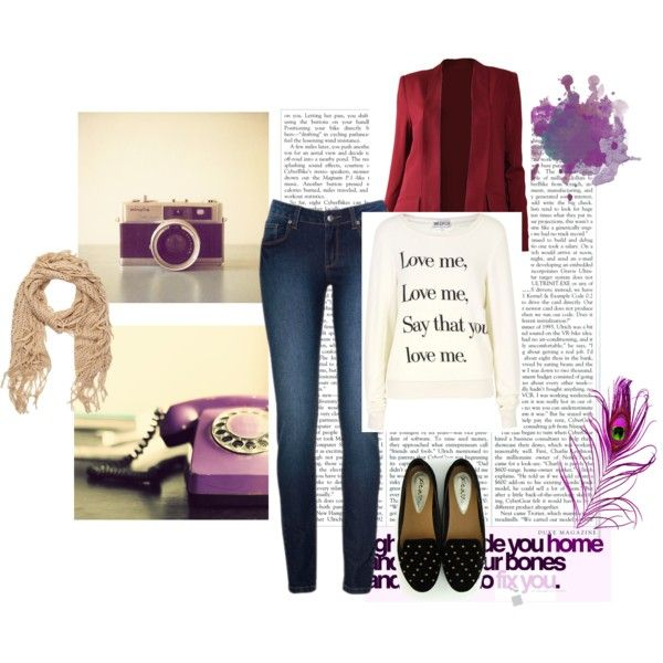 """media estación"" by flor-mar on Polyvore"