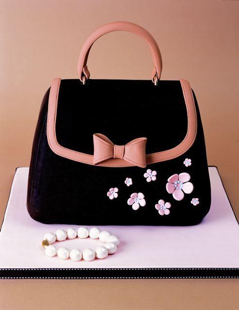 Adorable bag cake Creative Cake Design Pinterest