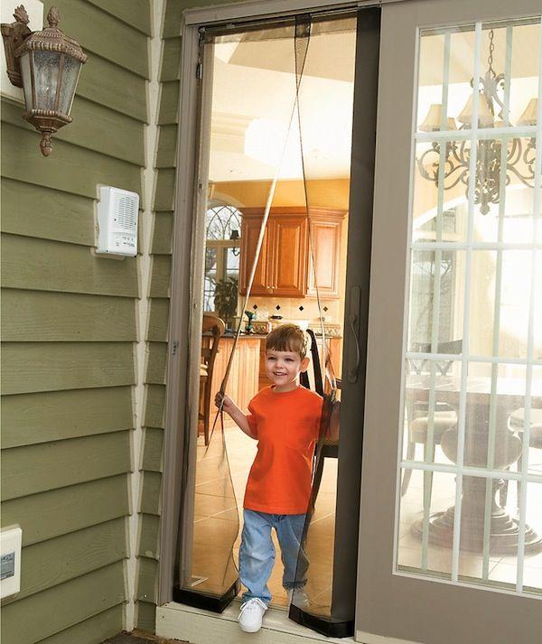 Walk Through Screen Door : Security screen doors walk through door