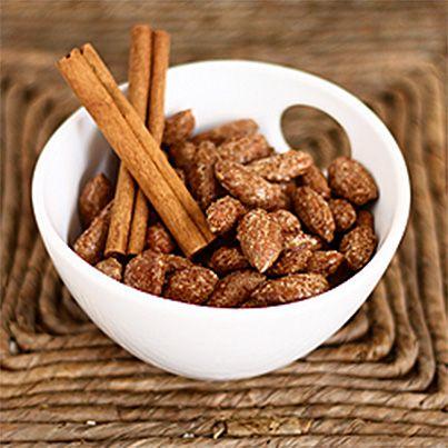 Cinnamon Roasted Almonds | Food | Pinterest