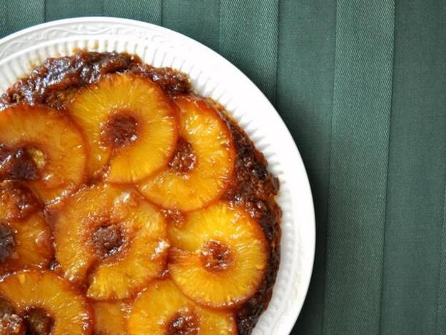 Skillet Pineapple Upside Down Cake | Recipe