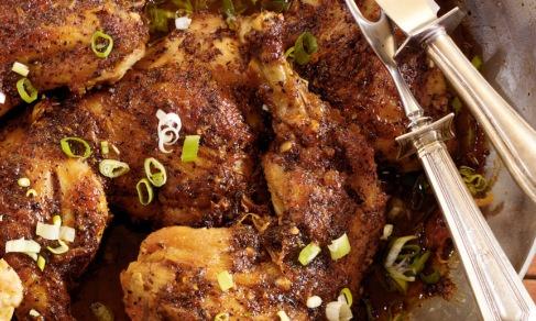Peach-Ginger Glazed Chicken | Recipe