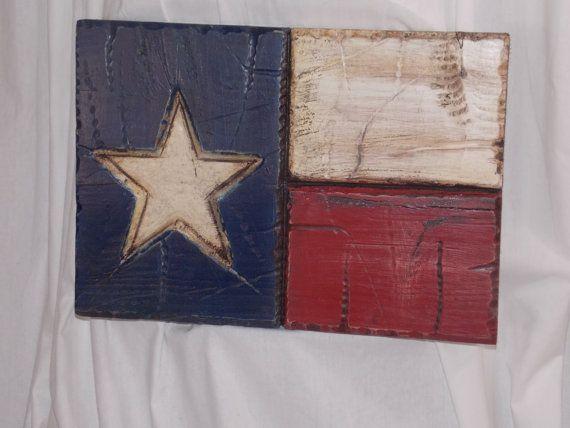 Rustic Americana Flag Wood Wall Decor