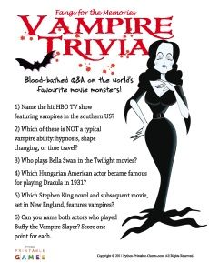halloween trivia for 2nd graders